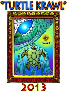 2013 Turtle Krawl Artwork